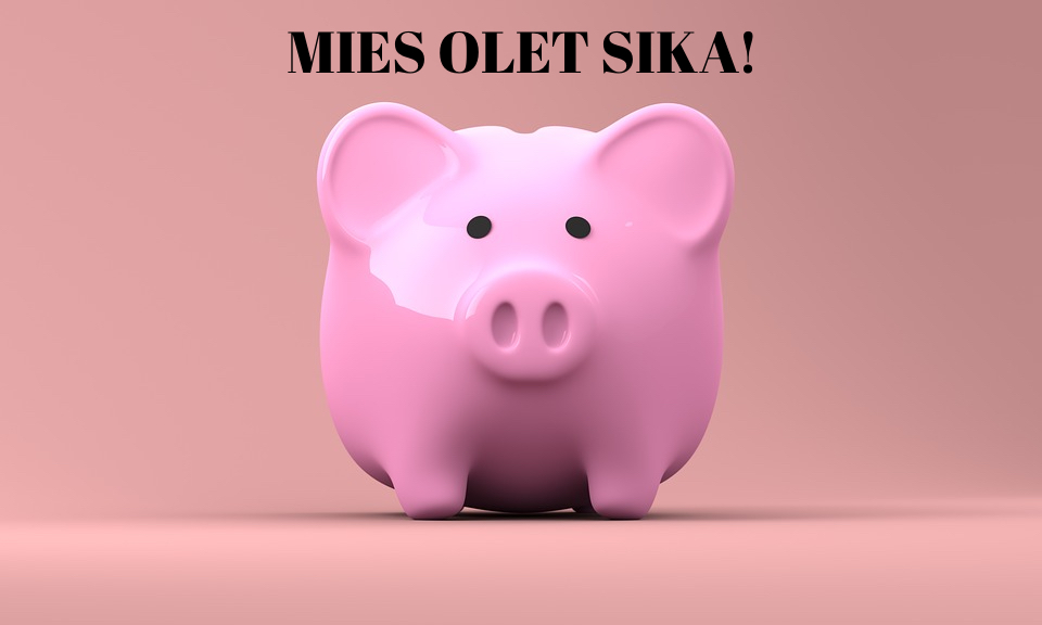 mies olet sika