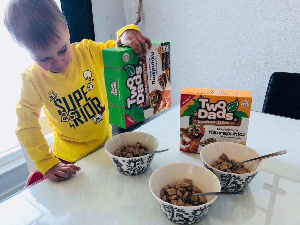 terveelliset murot lapsille