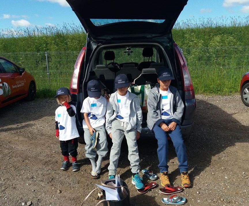 Road Trip lasten kanssa
