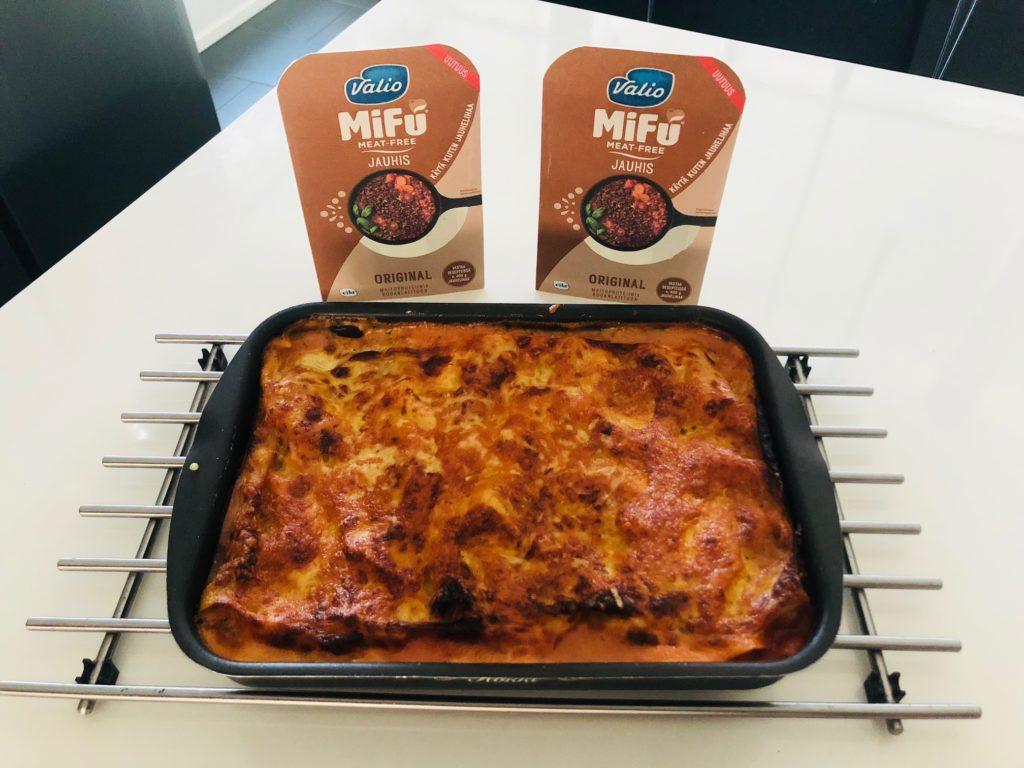 Valmis lasagne Mifu jauhiksesta