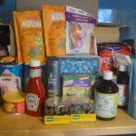 Lapset ruokaostoksilla