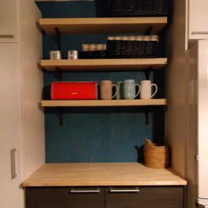 Pienen budjetin keittiöremontti – väriä elämään!