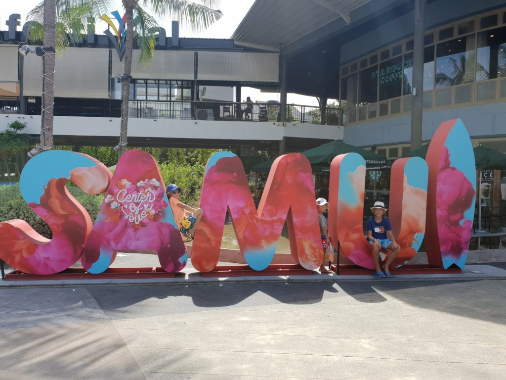 Koh Samui, paratiisisaari Thaimaassa