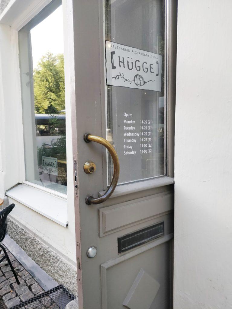 Vähemmän lihaa lautaselle - sekä hurmaava ravintola Hügge!