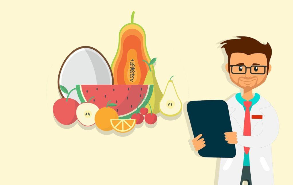 Terveellinen ruokavalio sisältää paljon kasviksia ja hedelmiä