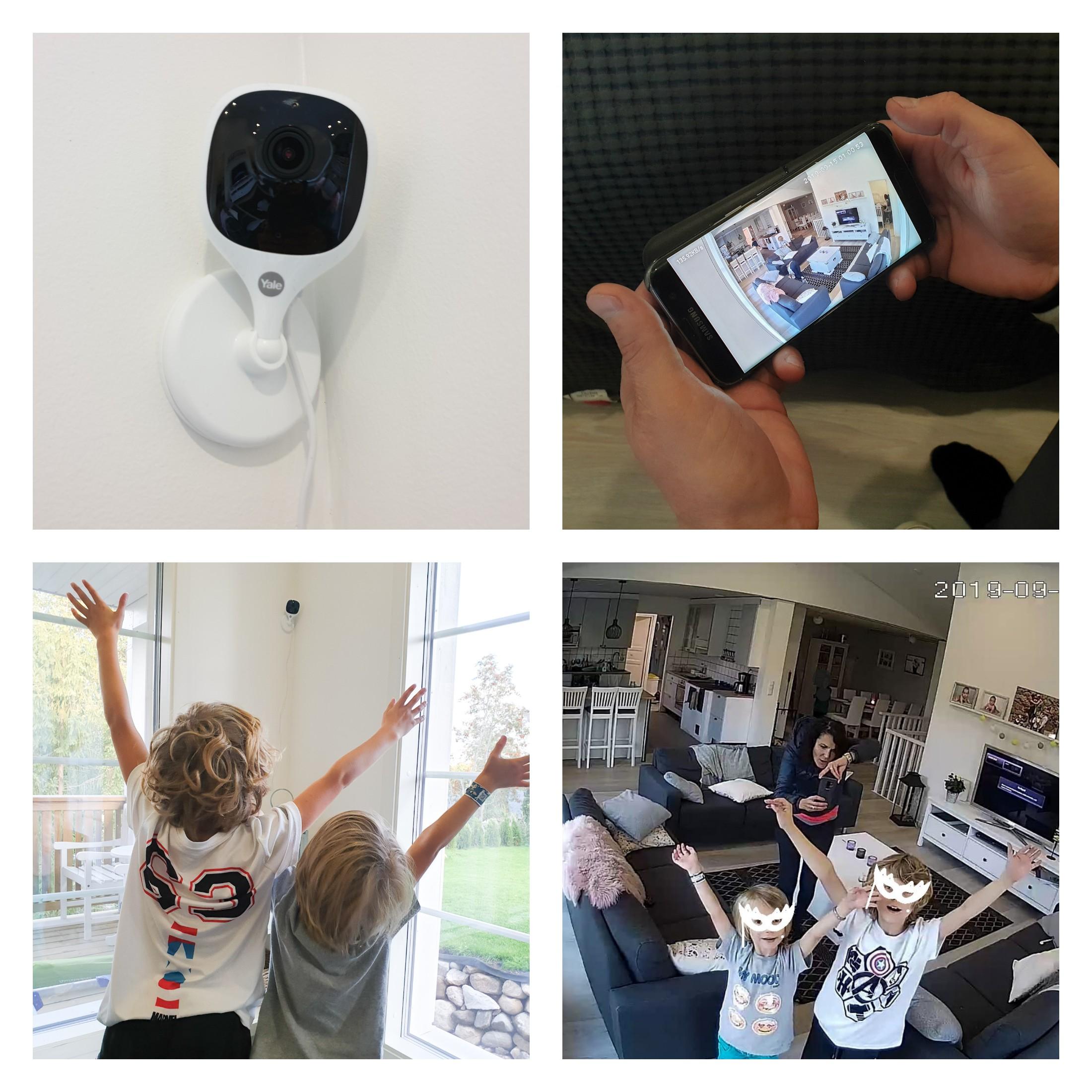 älylukko valvontakamera