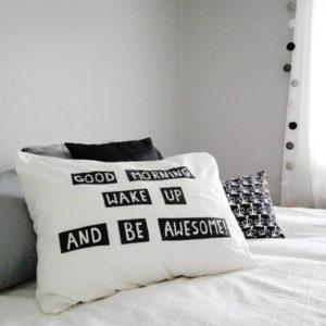 Makuuhuoneen sisustus ennen ja nyt