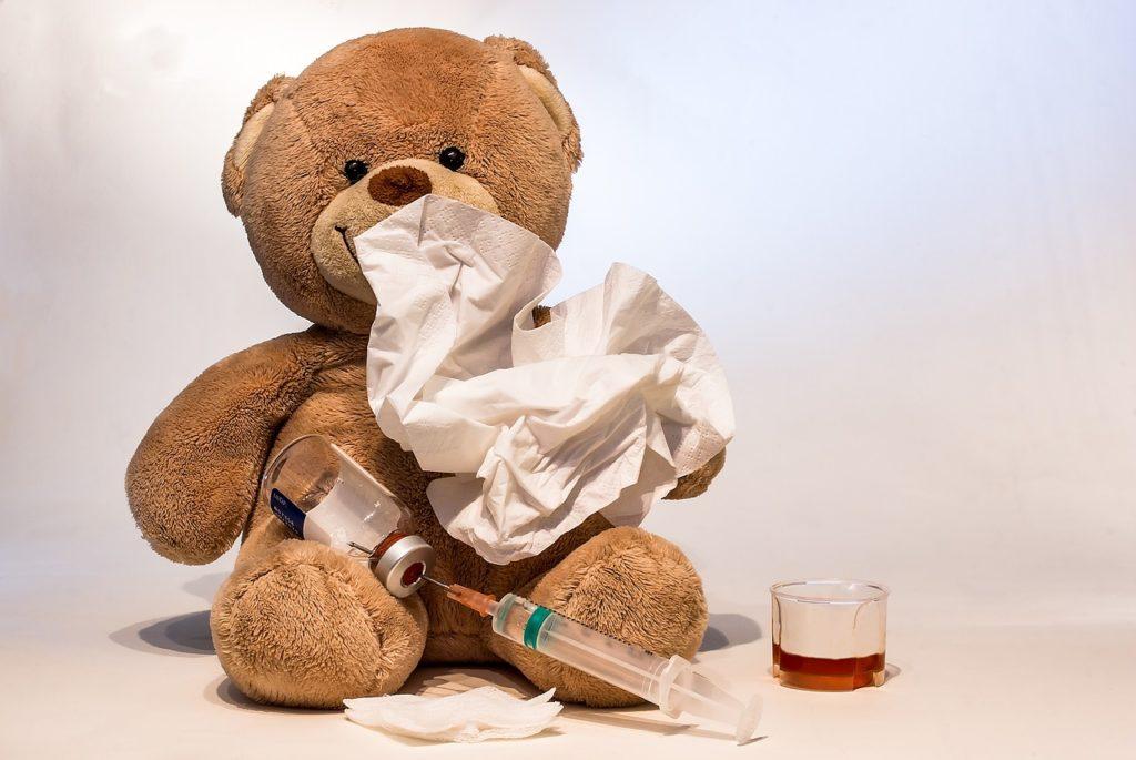 Flunssa on yleinen lapsilla