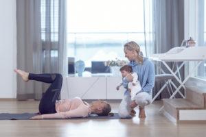 Miksi jokaisen äidin tulisi treenata lantionpohjan lihaksia?