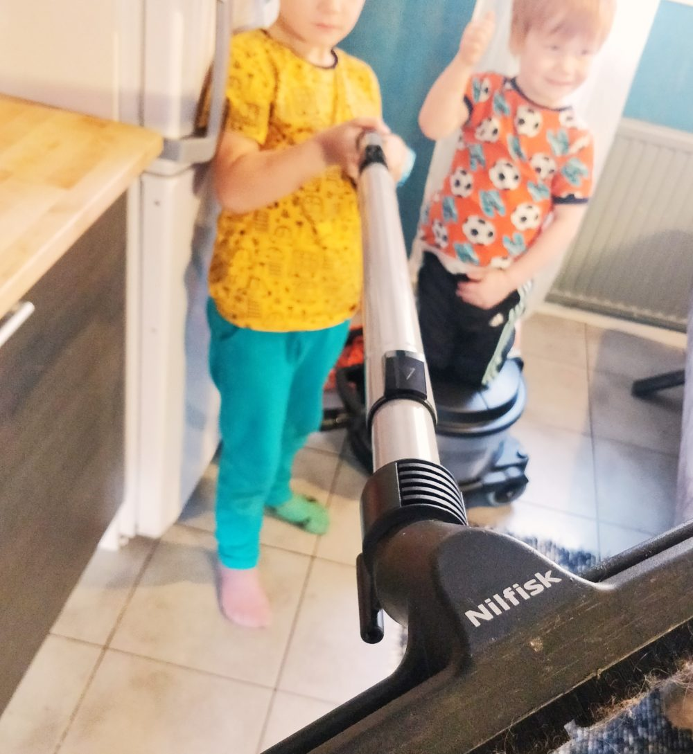 Lapsen vastuu kotitöistä