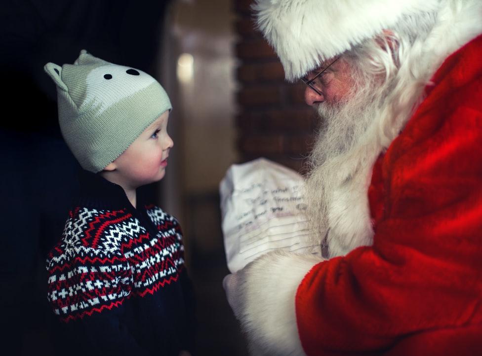 Joulupukkiin uskominen on tärkeää lapsen kehitykselle