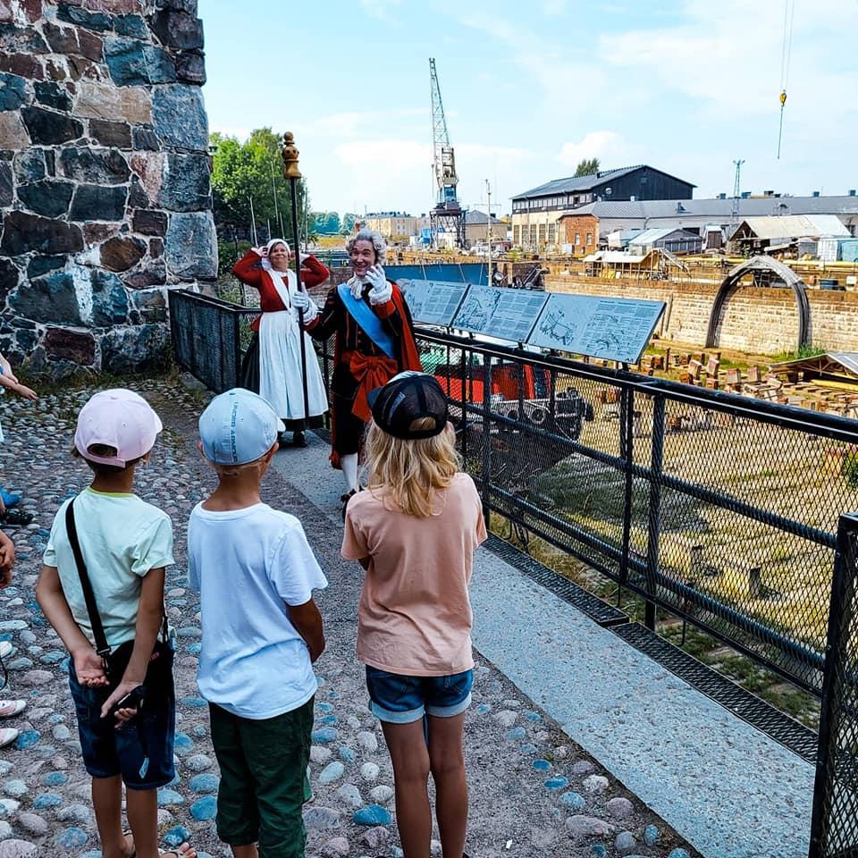 suomenlinnan seikkailukierros