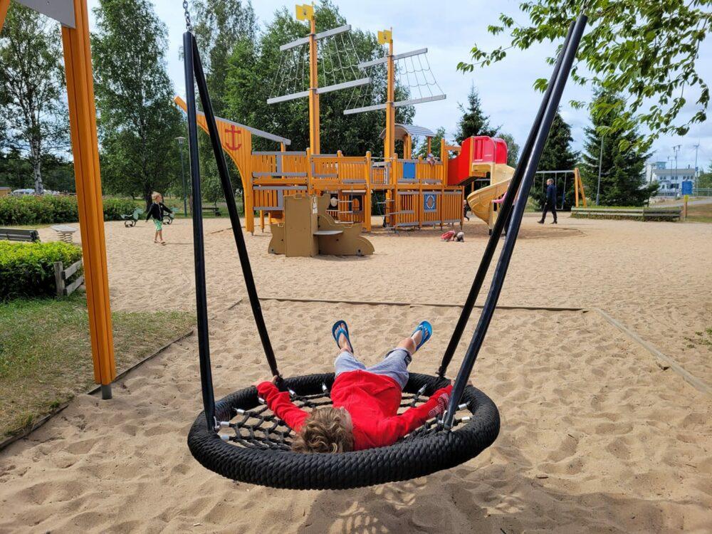 Kokkola leikkipuistot